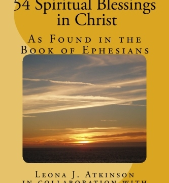 54 Spiritual Blessings in Christ Book Cover